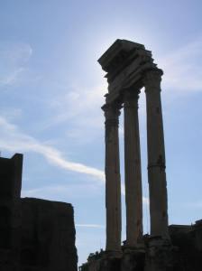 Temple des Dioscures (Castor et Pollux)
